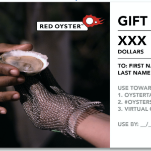 Giftcard Red Oyster USA