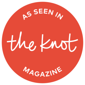 Knot logo used as a badge for red-oyster website