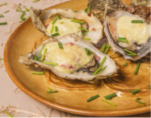 Picture of Festive Champagne Oysters