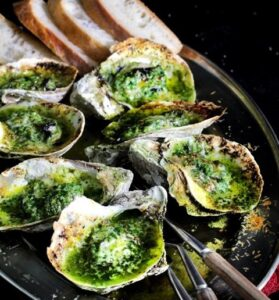 Image of Green Butter Grilled Oyster
