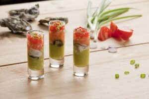 Picture of oyster shooter drink