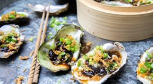 foto of Steamed oysters with Black Bean sauce